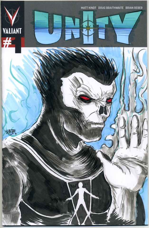 Shadow Man sketch cover