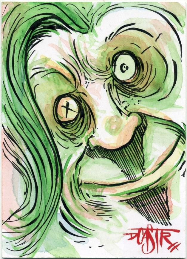 Green Weirdo