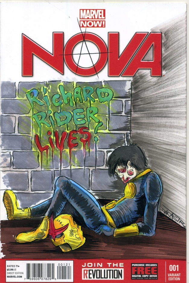 NOVA #1 sketch cover
