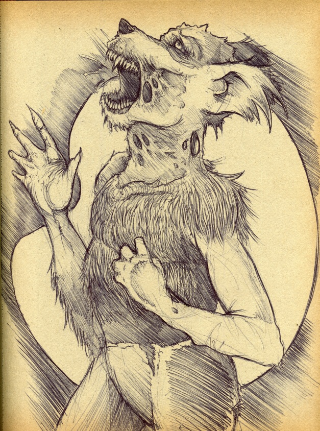 Truth be told Werewolves are my favorite animals.