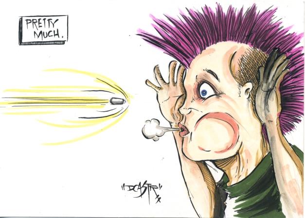 Punk Rock Bullet Dodger