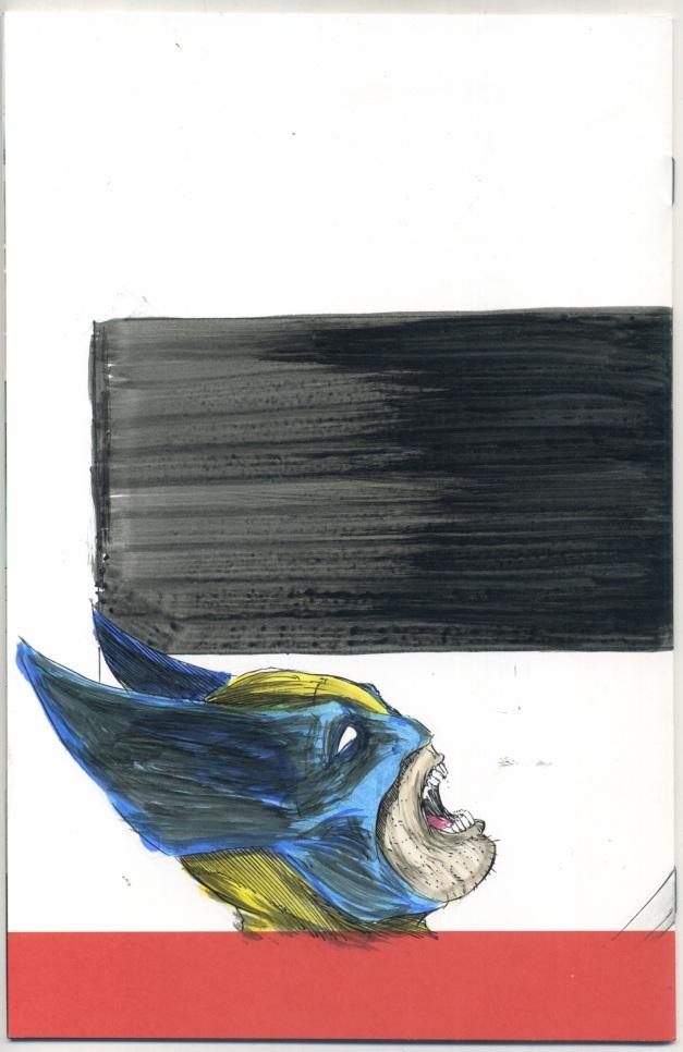Deadpool #1 Sketch cover (back)
