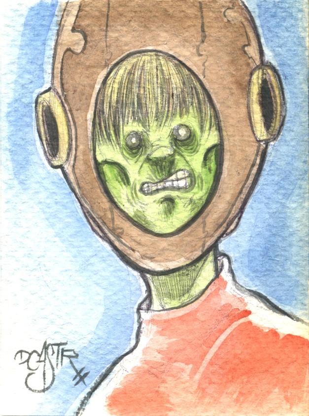 Fishtank Zombie head