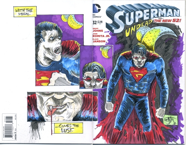 Superman Undead's lust for moonlight.