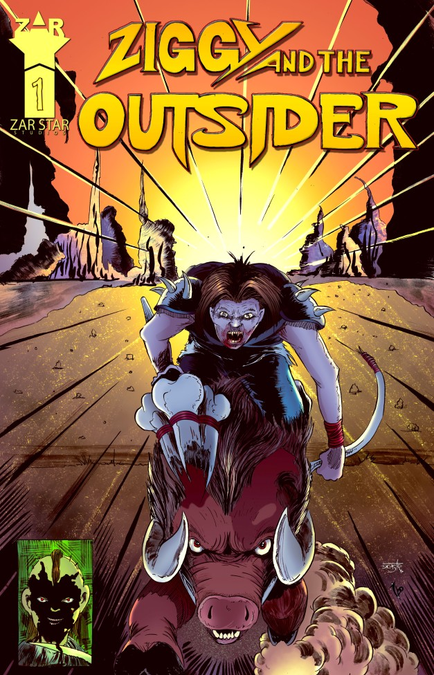 Cover for Ziggy and the Outsider