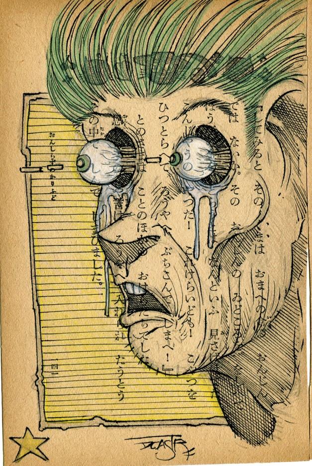 buggy eyed